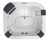 Бассейн спа Jacuzzi DELOS PRO SOUND 2150x1900x800мм (без боковых панелей)