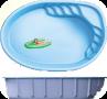 Композитный бассейн Franmer ЛИОН-BABY