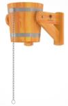 Обливное устройство 12л (лиственница натуральная со специальным покрытием)
