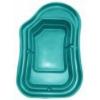 Пруд (900л) 240х152х52см зеленый