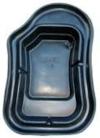 Пруд (900л) 240х152х52см черный
