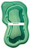 Пруд (750л) 225х130х50см зеленый