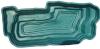 Декорат.пруд 4800л зеленый(432х197х80см)