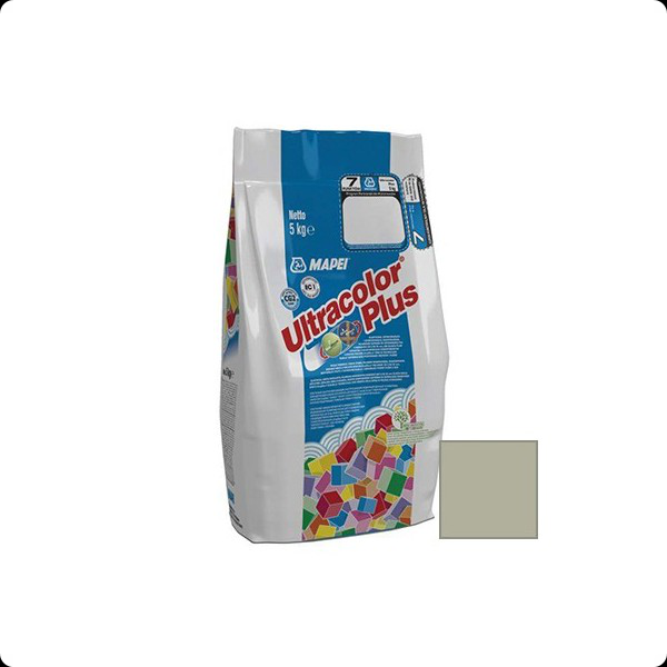 Затирка MAPEI ULTRACOLOR PLUS №112 серая 5кг