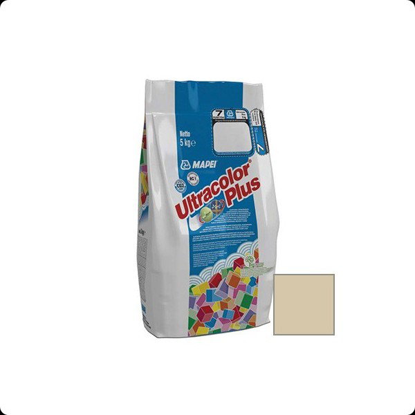 Затирка MAPEI ULTRACOLOR PLUS №132 бежевая 5кг