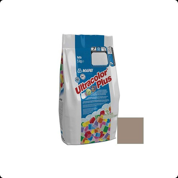 Затирка MAPEI ULTRACOLOR PLUS №134 шелк 5кг