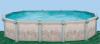 Бассейн Гибралтар овальный глубиной 1.32м, размером 7.3х3.7м (комплект)