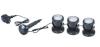 Светильник светодиод.белый теплый, 3.0Вт х 3шт (к-т), пластиков, c датч света, с трансф 12В (JAD), арт. SDL-303