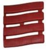 Коврик SOFT STEP №5 шириной 60см темно-красный