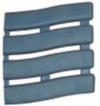 Коврик SOFT STEP №10 шириной 60см серо-синий