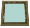Зеркало квадратное малое (липа), арт. ЗК-М