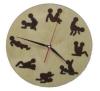 Часы КАМАСУТРА для предбанника (липа), арт. ЧР-К