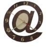 Часы СОБАЧКА для предбанника (липа), арт. ЧР-КС