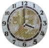 Часы резные для предбанника (липа), арт. ЧРГ-1