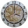Часы резные для предбанника (липа), арт. ЧРГ-2