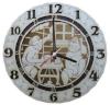 Часы резные для предбанника (липа), арт. ЧРГ-3