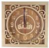Часы квадратные МОЯ БАНЯ для предбанника (липа), арт. ЧК-1