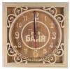 Часы квадратные С ЛЕГКИМ ПАРОМ, МУЖИКИ для предбанника (липа), арт. ЧК-2