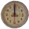 Часы БОЧОНОК светлые для предбанника (липа), арт. ЧБ-С