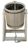 Обливное устройство 20л с нержавеющей вставкой (липа), арт. ОН-20