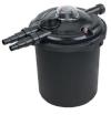 Фильтр напорный для пруда V=10м3 (5м3 c рыбами) с УФ, с промывкой (необходим насос 10м3/ч), арт. EFU-10000
