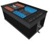 Фильтр безнапорный для пруда V=450м3 (250м3 c рыбами) с УФ, с насосом 30м3/ч, арт. BIO-FILTER 190i
