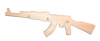 Вешалка с 3-мя крючками АК-47 (липа), арт. ММ-225