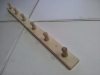 Вешалка с 6-ю крючками (липа), арт. В-6