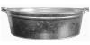 Таз 23л (оцинковка), арт. 36552