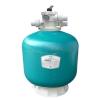 Фильтр Д.450 POOLKING EPW мотанный 8.0м3/ч с верхним вентилем, арт. EPW450+MT0105