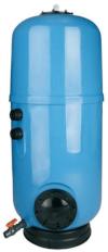 Фильтр с высотой слоя песка 1.0м IML NILO Д.500, 9.0м3/ч без бокового вентиля 1 1/2