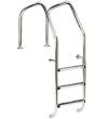 Лестница IML OVERFLOW стальная А316 с 3 ступенями с противоскользящими накладками (Испания), арт. PS-0802