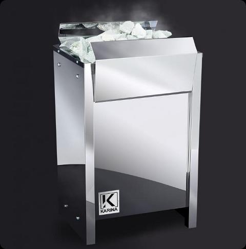 Электрическая печь KARINA Lite  12 кВт, 380В (без камней)