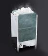 Электрическая печь KARINA TETRA  в камне талькохлорит вертикальный 12 кВт, 380В