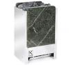 Электрическая печь KARINA TETRA в камне серпентинит вертикальный 12 кВт, 380В