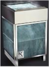 Электрическая печь KARINA Quadro в облицовке талькохлорит 6 кВт, 220/380В
