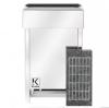 Электрическая печь KARINA ECO в камне серпентинит горизонтальный 8 кВт, 220В