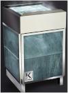 Электрическая печь KARINA Elite  в облицовке талькохлорит 8 кВт, 220В