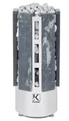 Электрическая печь KARINA FORTA  в облицовке талькохлорит 8 кВт, 220/380В