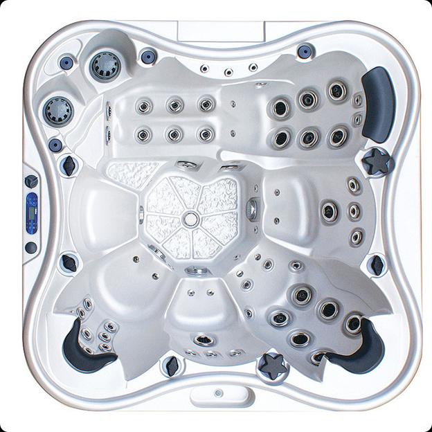 Бассейн спа IQUE Eden 2310-EP (WiFi) размером 2290х2290х960мм