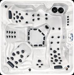 Бассейн спа ARCTIC KLONDIKER Legend Select размером 2350х2350х980мм
