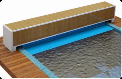 Сматывающее устройство надводное со скамьёй AQUASECTOR, арт. АС 18.02.1Н