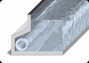 Сматывающее устройство подводное ROLLOSOLAR на дне в боковой нише