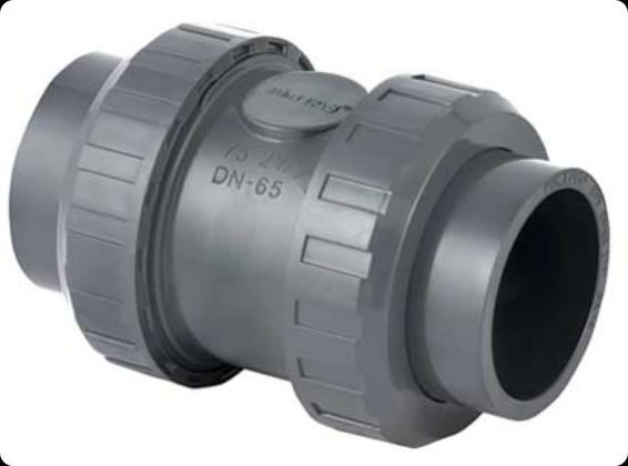 ПВХ Клапан обратный Д.110мм