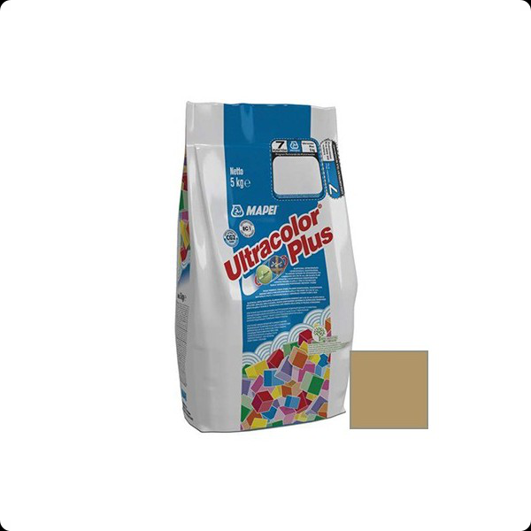 Затирка MAPEI ULTRACOLOR PLUS №141 карамель 5кг