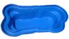 Декорат.пруд 4200л синий (402х211х90см)