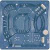 Бассейн спа PDC EVEREST 2360х2360х990мм