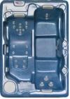 Бассейн спа PDC ANTERO 1520х2130х790мм